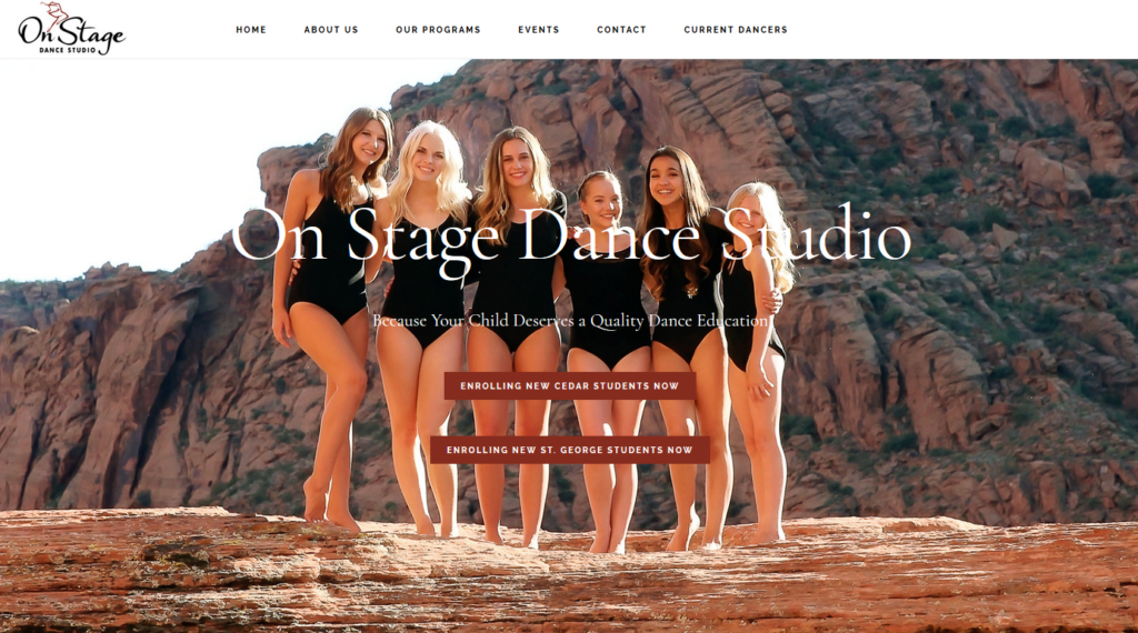 New On Stage Website is here!